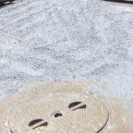Maxon anti-corrosive  was spray applied to the deck