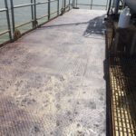 After pressure wash, CRS applied