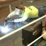 Welding over CRS