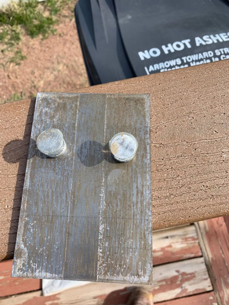 What not to do: applying a second coat of CRS onto itself. Results in a pull strength of 200 psi