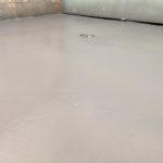 Clear coat epoxy applied