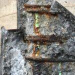 Exposing spalled concrete/rebar
